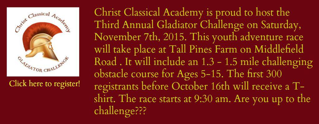 Gladiator Challenge Registration Link